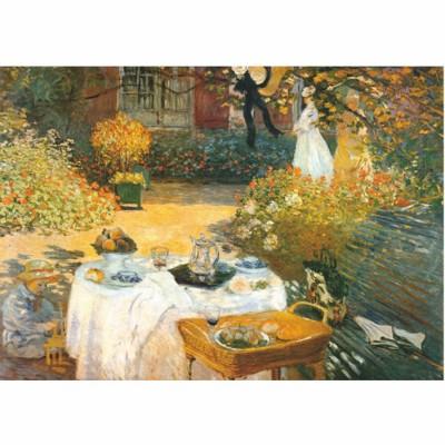 Puzzle  DToys-67548-CM02-(69689) Monet: Das Frühstück