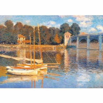 Puzzle  DToys-67548-CM03-(69672) Monet: Le pont d'Argenteuil