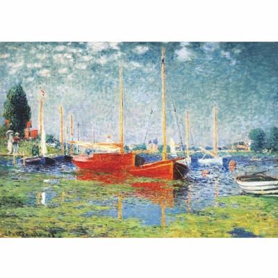 Puzzle  DToys-67548-CM04-(69665) Monet: Argenteuil