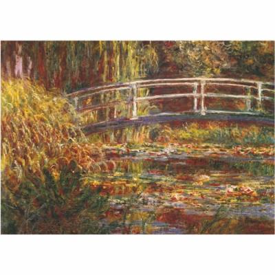 Puzzle  DToys-67548-CM05-(69658) Monet: Le pont japonais