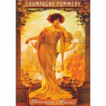 Puzzle  DToys-67555-VP06 Vintage Posters: Champagne Pommery