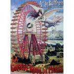 Puzzle  Dtoys-67555-VP18 La Grande Roue de Paris
