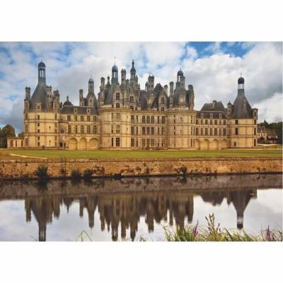 Puzzle  Dtoys-67562-FC01-(67562) Französisches Schloss: Château de Chambord