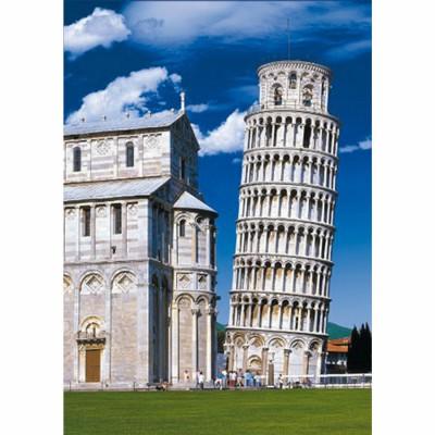 Puzzle DToys-69283 Italien - Der schiefe Turm von Pisa