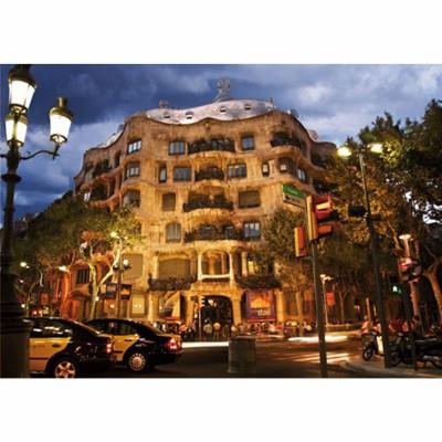 Puzzle  Dtoys-69313 Spanien - Barcelona, Casa Mila