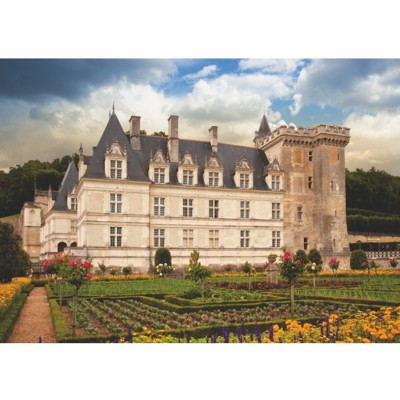 Puzzle  Dtoys-69528 Französisches Schloss: Château de Villandry