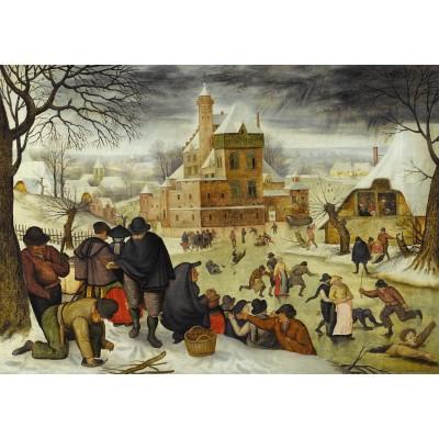 Puzzle Dtoys-70005 Brueghel: Winter
