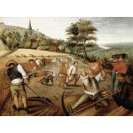 Puzzle  DToys-70029 Brueghel: Sommer