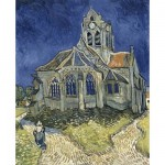 Puzzle  DToys-70173 Van Gogh: Die Kirche von Auvers sur Oise