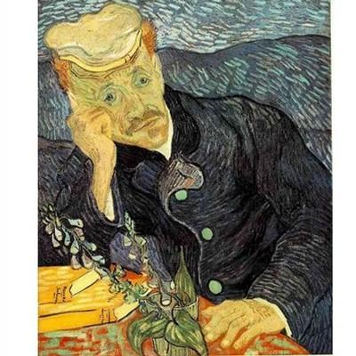 Puzzle  DToys-70210 Van Gogh: Portrait des Dr. Gachet