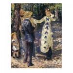 Puzzle  Dtoys-70265 Renoir Auguste - Auf der Schaukel