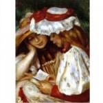 Puzzle  Dtoys-70289 Renoir: Zwei lesende Mädchen