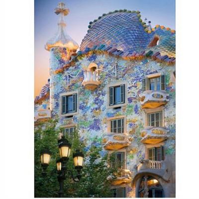 Puzzle DToys-70357 Spanien - Barcelona, Casa Batllo