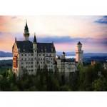 Puzzle  Dtoys-70524 Bei Nacht - Deutschland: Schloss Neuschwanstein