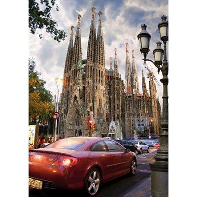 Puzzle  DToys-70623 Spanien - Barcelona, Sagrada Familia