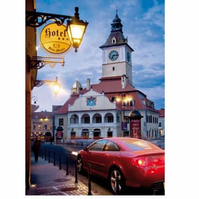 Puzzle  DToys-70661 Rumänien - Brasov ehemals Kronstadt