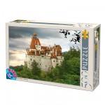 Puzzle  DToys-70678 Rumänien: Schloss Bran