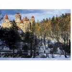 Puzzle  DToys-70685 Rumänien: Schloss Bran