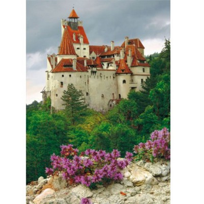 Puzzle  DToys-70715 Rumänien: Schloss Bran