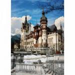 Puzzle  DToys-70739 Rumänien: Schloss Peles