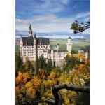 Puzzle  DToys-70784 Deutschland: Schloss Neuschwanstein
