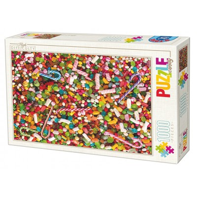 Puzzle Dtoys-71958-HD02-(74607) High Difficulty - Bonbons