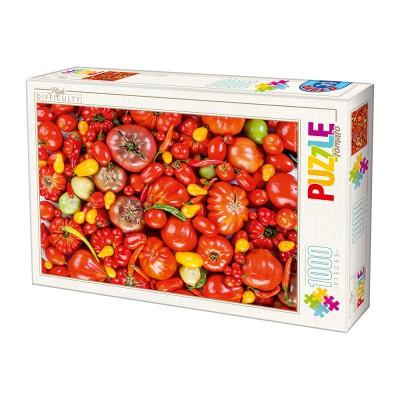 Puzzle  Dtoys-71958-HD03-(74614) Tomato
