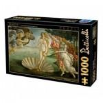 Puzzle  Dtoys-72672-BO01-(72672) Sandro Botticelli - Die Geburt der Venus