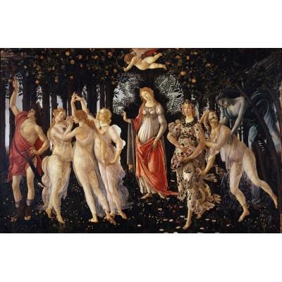 Puzzle  Dtoys-72672-BO02-(69955) Sandro Botticelli: La Primavera