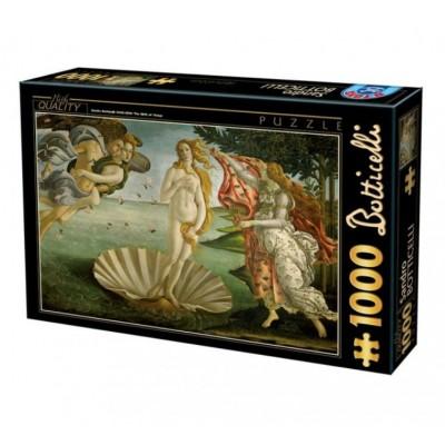 Puzzle Dtoys-72672 Sandro Botticelli - Die Geburt der Venus