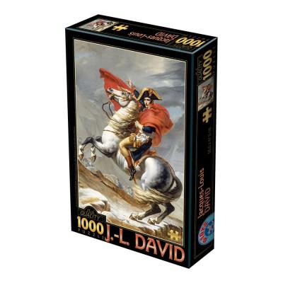 Puzzle  Dtoys-72719 David Jacques-Louis : Napoleon Bonaparte überschreitet die Alpen