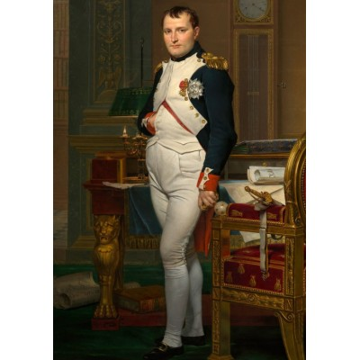 Puzzle  Dtoys-72719-DA02 Jacques-Louis David: The Emperor Napoleon in his study at the Tuileries, 1812