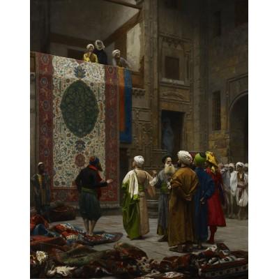 Puzzle  Dtoys-72726-GE03-(72726) Jean-Léon Gérôme: Carpet Merchant in Cairo, 1887