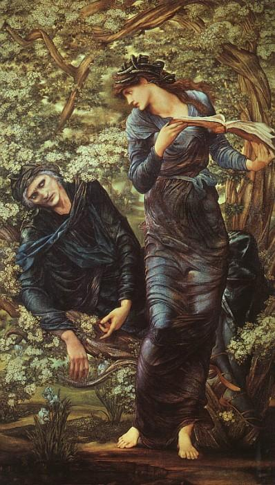 Puzzle  Dtoys-72733-BU02-(75024) Edward Burne-Jones: The Beguiling of Merlin, 1872-1877