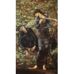 Puzzle  Dtoys-72733-BU02 Edward Burne-Jones: The Beguiling of Merlin, 1872-1877