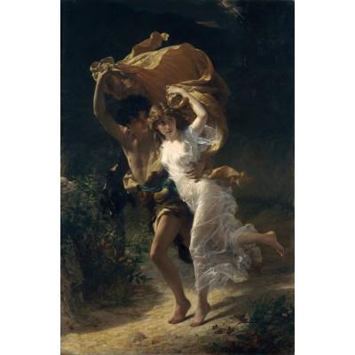 Puzzle  Dtoys-72740-CO01 Pierre-Auguste Cot: Der Sturm, 1880