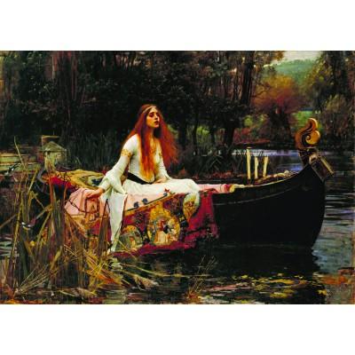 Puzzle Dtoys-72757 Waterhouse John William: The Lady of Shalott