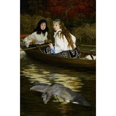 Puzzle  Dtoys-72771-TI01 James Tissot: On the Thames, A Heron