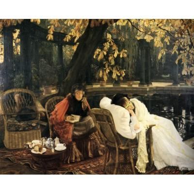 Puzzle  Dtoys-72771-TI02 James Tissot: A Convalescent