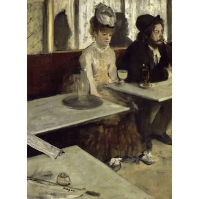 Puzzle  Dtoys-72801-DE01 Degas Edgar: In a Café