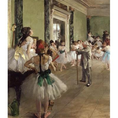 Puzzle  Dtoys-72801-DE02 Degas Edgar: Tanzschule
