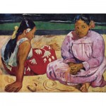 Puzzle  Dtoys-72818-GA01-(72818) Gauguin Paul: Frauen am Strand