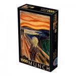 Puzzle  Dtoys-72832-MU01-(72832) Munch Edvard : Der Schrei