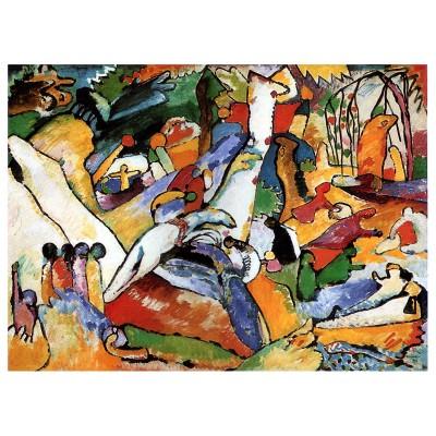 Puzzle  Dtoys-72849-KA01-(72849) Kandinsky Vassily: Composition II