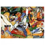 Puzzle  Dtoys-72849-KA01 Kandinsky Vassily: Composition II