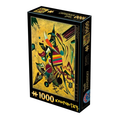 Puzzle Dtoys-72849-KA04 Kandinsky Vassily: Points