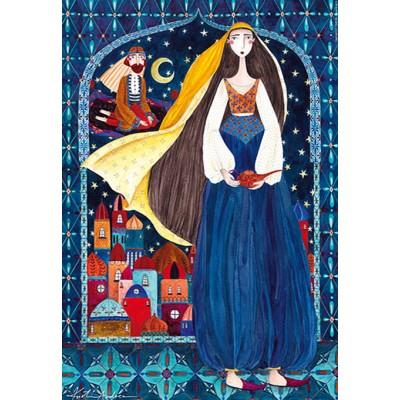 Puzzle  Dtoys-72870-KA03-(75178) Andrea Kürti: Arabian Nights