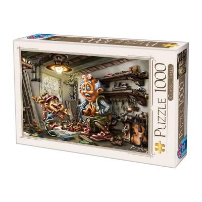 Puzzle  Dtoys-72894-CT01-(72894) Biro Donat: Pinnochio