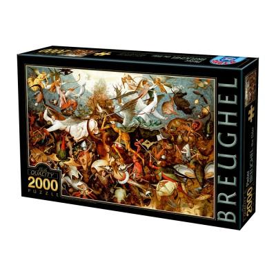 Puzzle  Dtoys-72900-BR02 Brueghel Pieter: Der Sturz der rebellierenden Engel, 1562