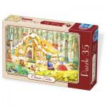Puzzle  Dtoys-72948-EM-01 Hansel und Gretel